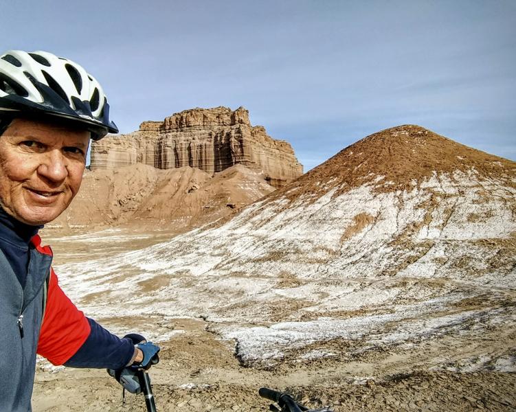 Salt Ride in Goblin Valley