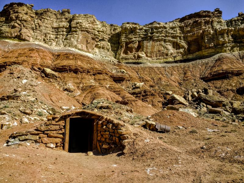 Tomsich Butte dynamite shack