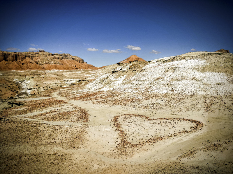 Intersection of Love, Goblin Valley