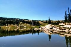 Seven Lakes Reflection