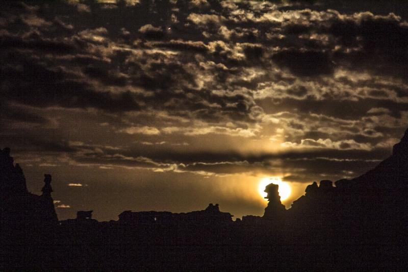 Goblin Valley Moonrise