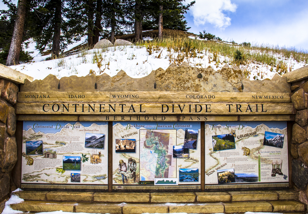 Continental Divide - Berthoud Pass